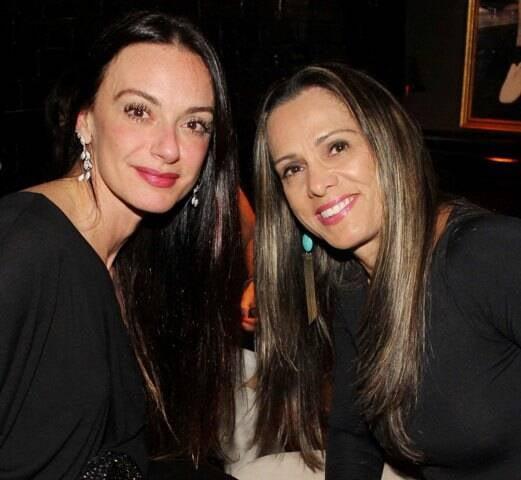 Cris Oliveira e Alessandra Hafield