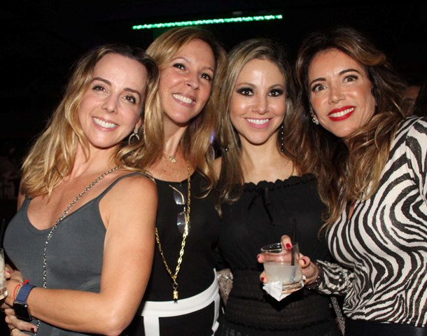 Dani Farah, Paula Magalhães, Alessandra Amaral e Patrícia Malta