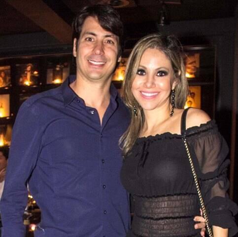 Renato Quadrado e Alessandra Amaral
