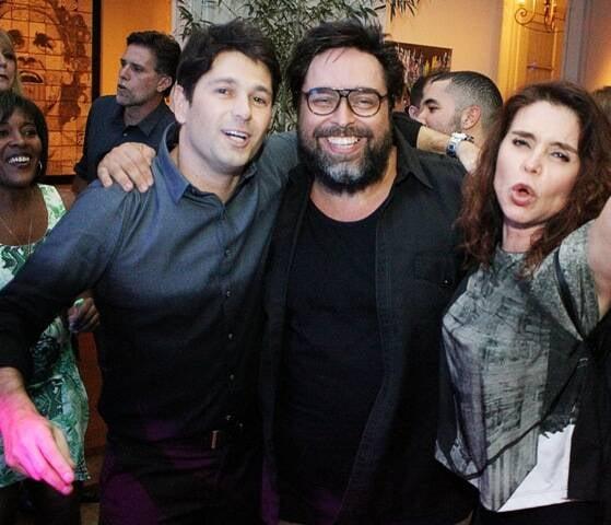 Gustavo Nunes, Eduardo Barata e Françoise Forton