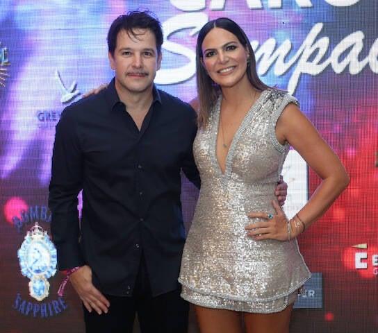 Murilo Benício e Carol Sampaio