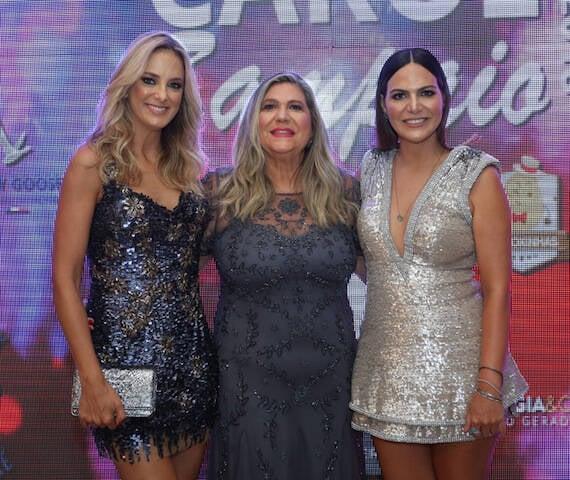 Ticiane Pinheiro, Marly e Carol Sampaio