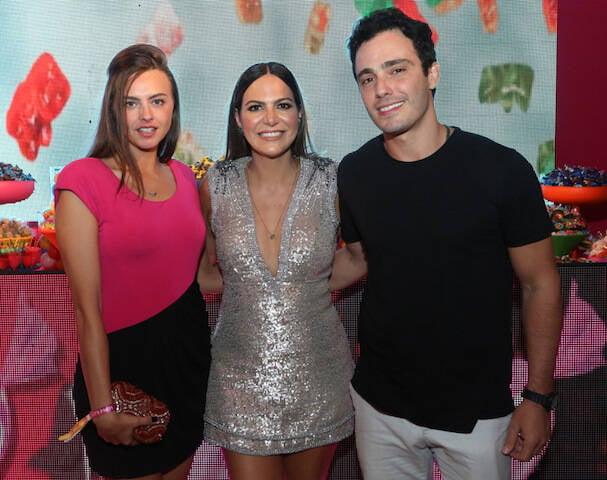 Katrin Kenigsberg, Carol Sampaio e Thiago Rodrigues