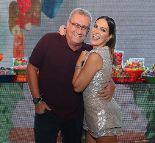 Maurício Saade e Carol Sampaio