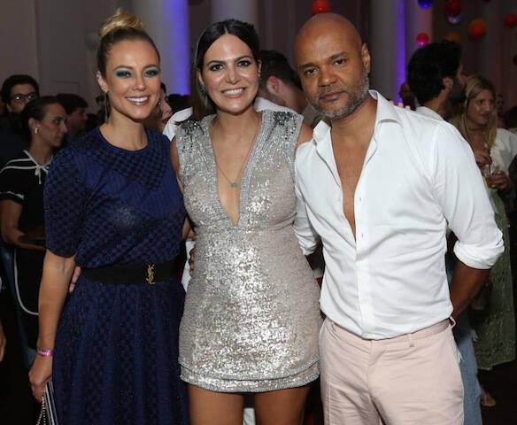 Paola Oliveira, Carol Sampaio e Ale de Souza