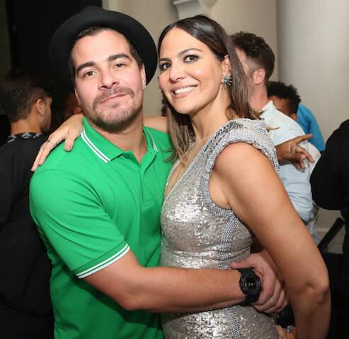 Thiago Martins e Carol Sampaio
