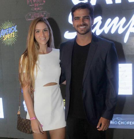 Julia Barbosa e Bernardo Mesquita