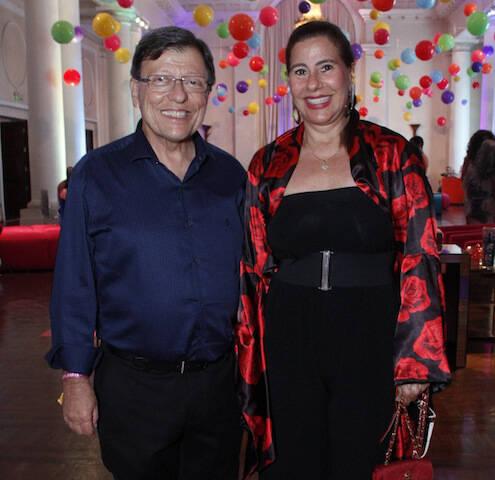 Francisco Barreira e Alice Tamborindeguy