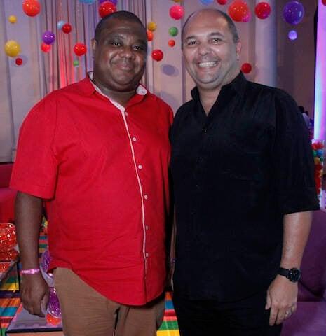 Mauricio Aires e Rogério Alves