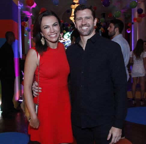 Ana Paula Araújo e Pedro Correa
