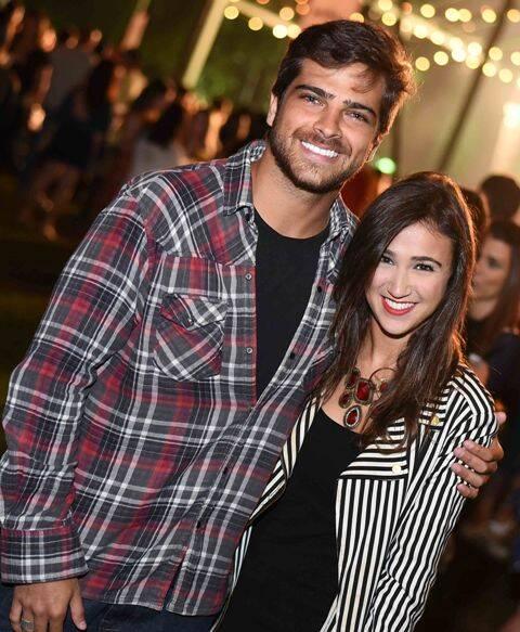 Bernardo Mesquita e Daniela Rosa