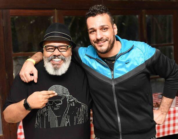 Jorge Aragão e Fabio Battistella
