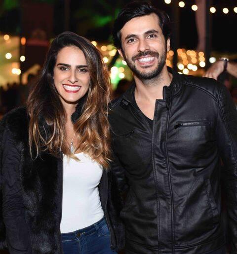 Marcela Fogaça e Artur Fernandes