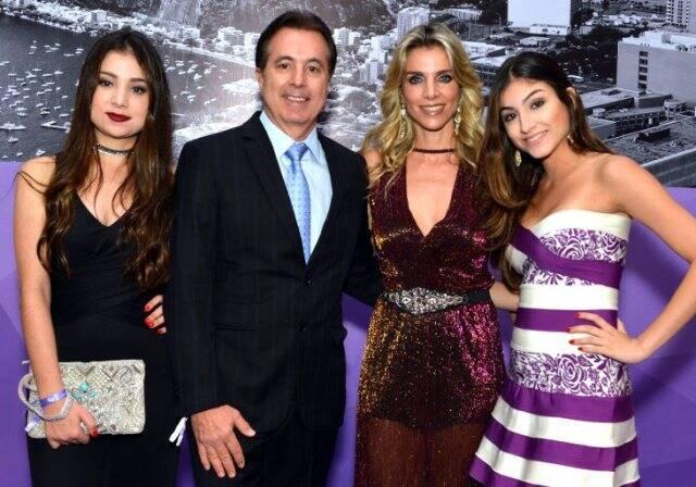 Gabriela, Estefano, Valéria e Stefani Favaretto