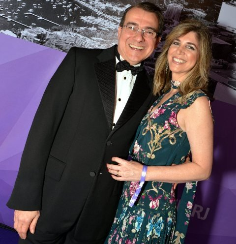 Jerônimo e Fabiana Sgarbi