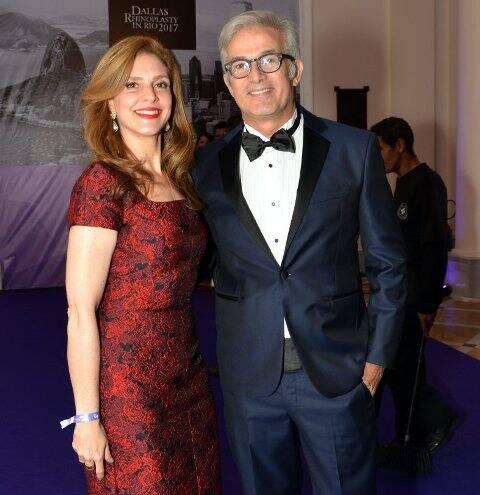 O casal Natalie Gontijo e Charles Sá