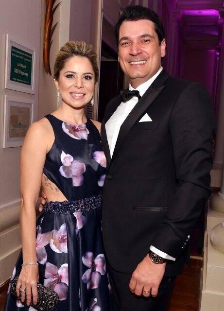 Priscilla Campelo e Régis Ramos