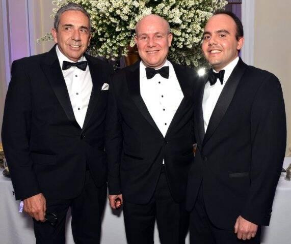 Enrique Monereo, Paulo Muller e Antônio Paulo Pitanguy Muller