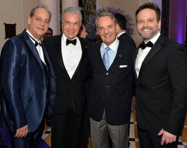 Luciano Chaves, Volney Pitombo, Peter Fodor e André Maranhão