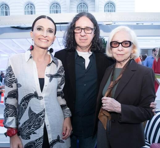 Andrea Natal, Geraldo Carneiro e Fernanda Montenegro