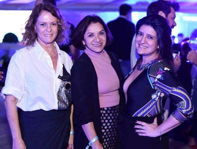 Aninha Costa, Sueli Bombiere e Mariana Fonseca