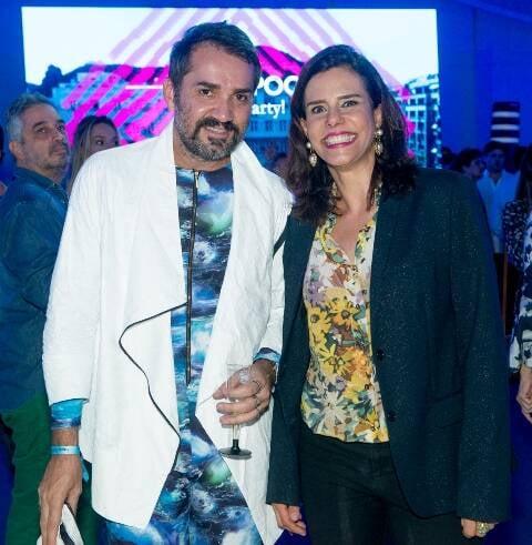 Beto Silva e Narcisa Tamborindeguy