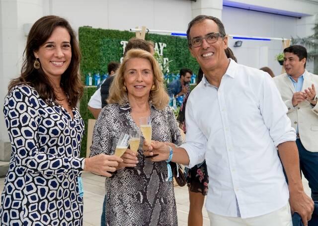 Carla Wollner, Eliane Menescal e Lauro Wollner
