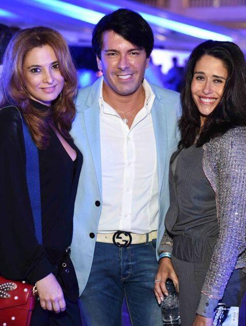 Cris Senna, André Ramos e Paula Severiano Ribeiro