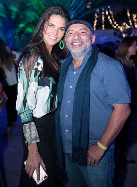 Daniela Sarahyba e DJ Papagaio