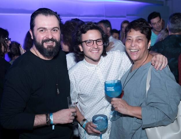 Emerson Pedrosa, Matheus Habbib e Katia Barbosa