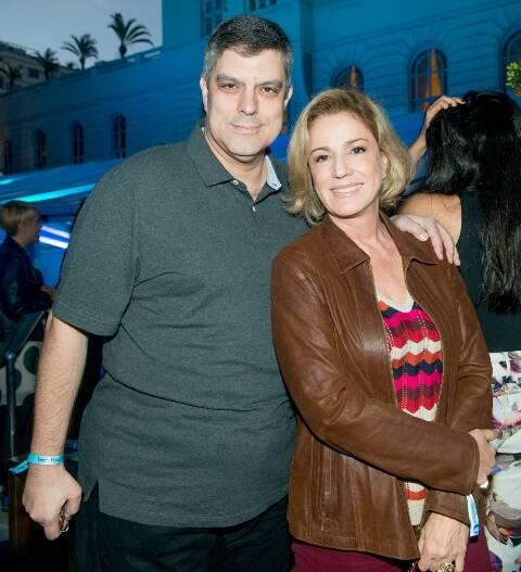 Fábio Cuiabano e Marcia Peltier
