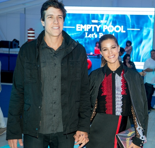 Felipe Reif e Pamela Tomé