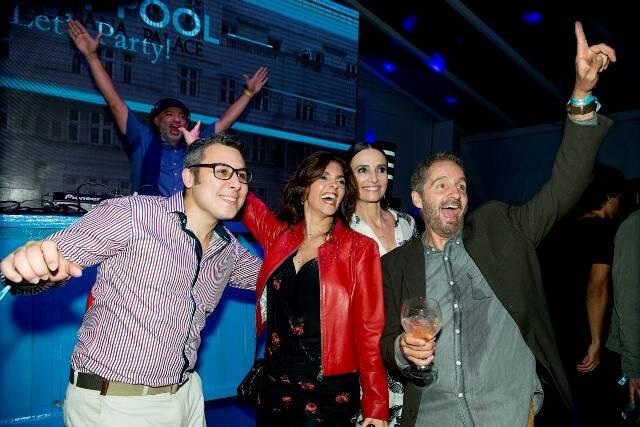 Felipe Scofano, Ana Cristina Villaça, Andrea Natal e Pedro Guimarães