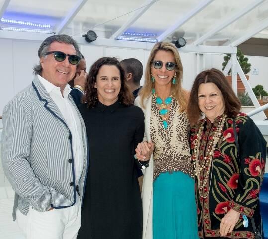 Gustavo Moreira de Souza, Maritza Caneca, Monica Moreira de Souza e Vanda Klabin