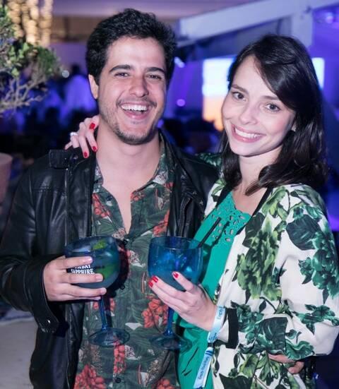 Lucas Vasconcellos e Talita Vaccaro