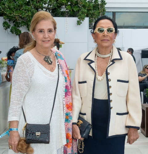 Madeleine Saade e Miriam Gagliardi