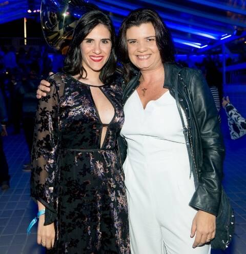 Maira Donnici e Inês Vergara
