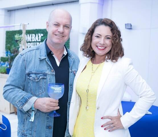 Marcello Castello Branco e Renata Araújo