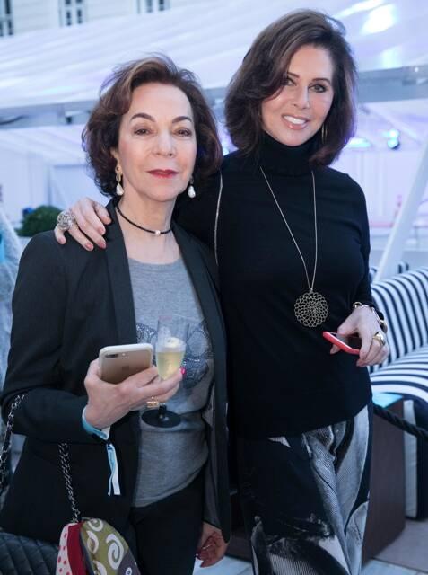 Moema Jafet e Regina Pinto
