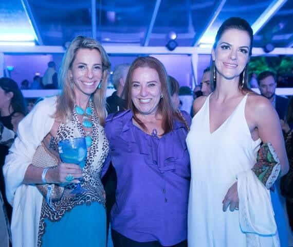 Monica Ibeas, Priscila Levinsohn e Sheila Lustoza