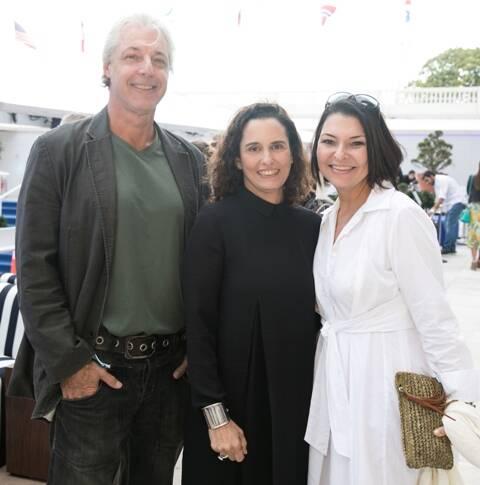 Serge Kraker, Maritza Caneca e Bel Augusta