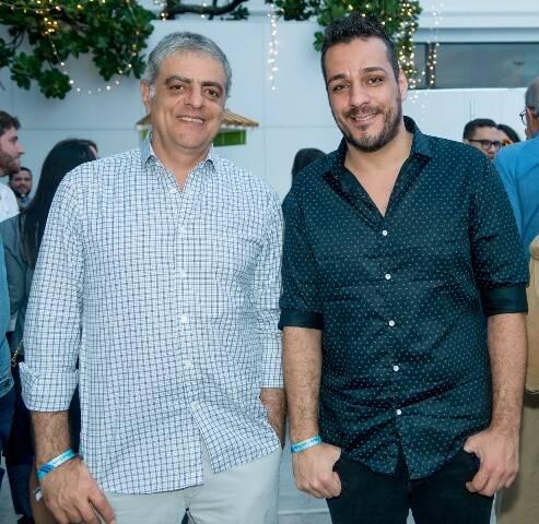 Sergio Kalil e Fábio Battistella
