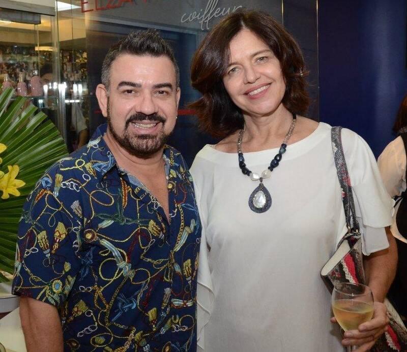 Elias Lucena e Márcia Dornelles  /Foto: Marco Rodrigues