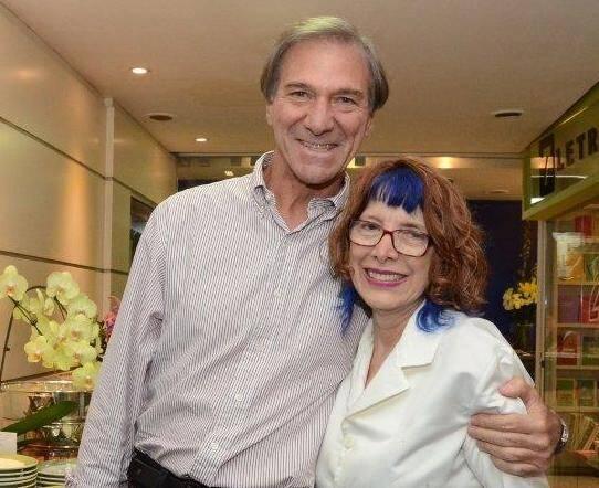 Carlos Scherr e Elza Pontes  /Foto: Marco Rodrigues