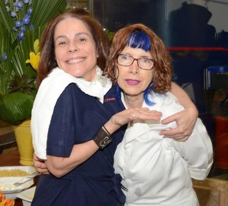 Marília Medina e Elza Pontes  /Foto: Marco Rodrigues