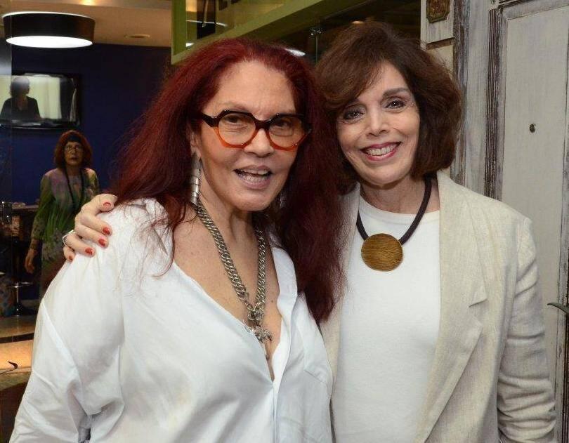 Tânia Caldas e  Ana Lúcia Magalhães Pinto /Foto: Marco Rodrigues