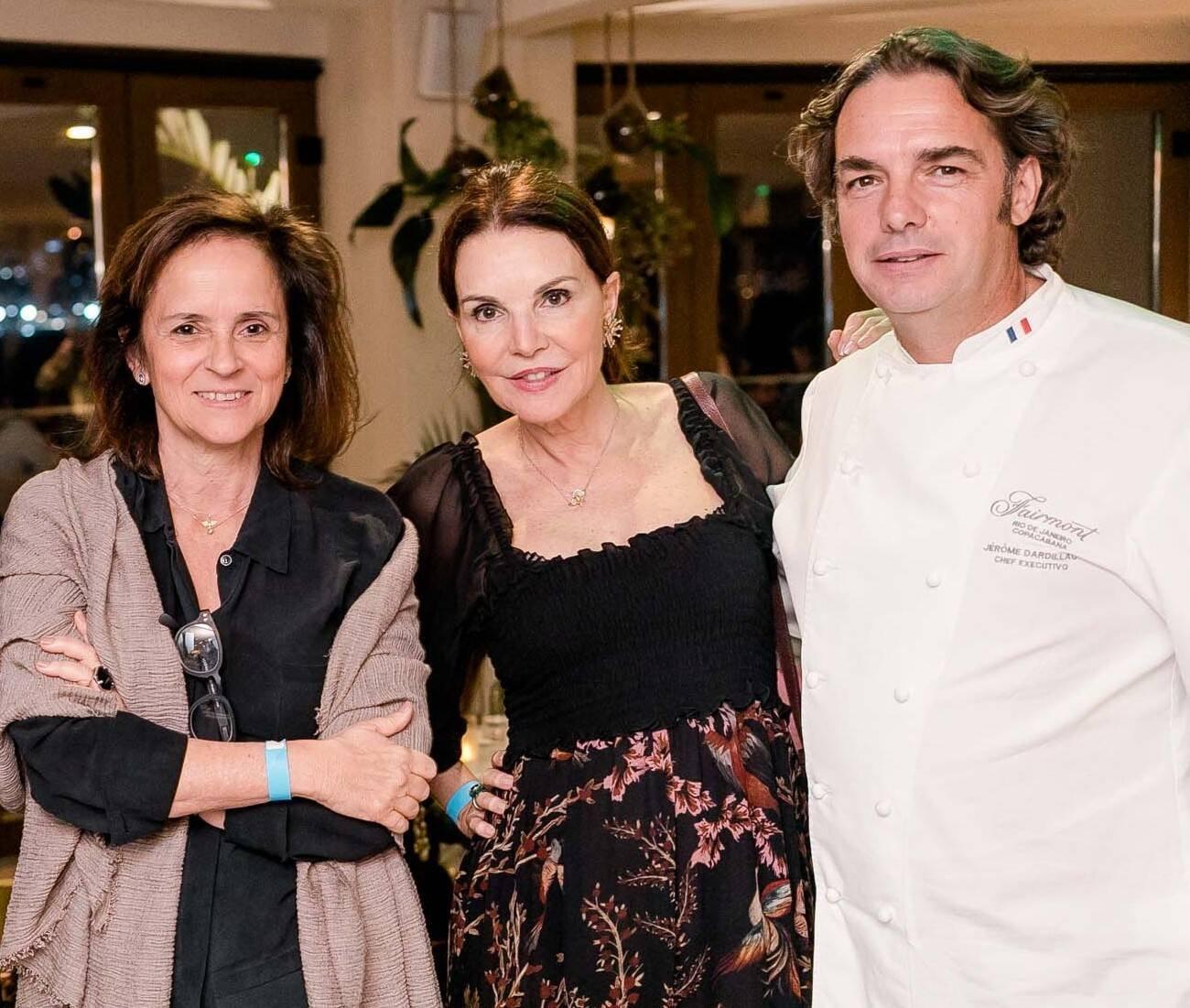 Patricia Quentel, Patricia Mayer e Jérôme Dardillac /Foto: Miguel Sá