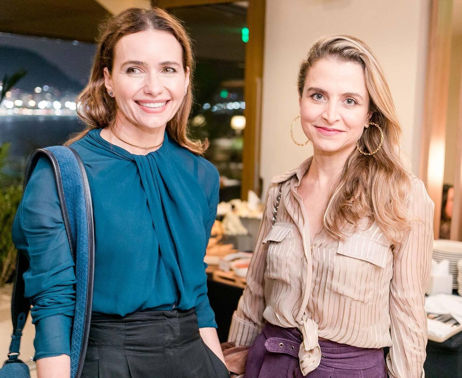Adriana Mattar e Ana Cecilia Gros /Foto: Miguel Sá