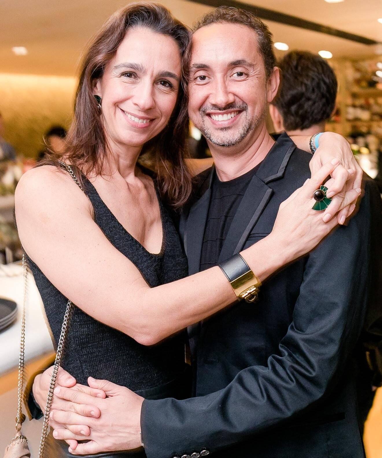 Mabel Graham e Emerson Araújo /Foto: Miguel Sá