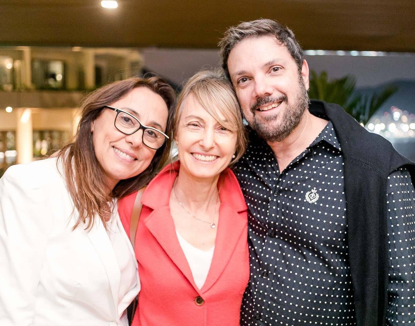Miriane Santos, Patricia Marinho e Mario Santos /Foto: Miguel Sá